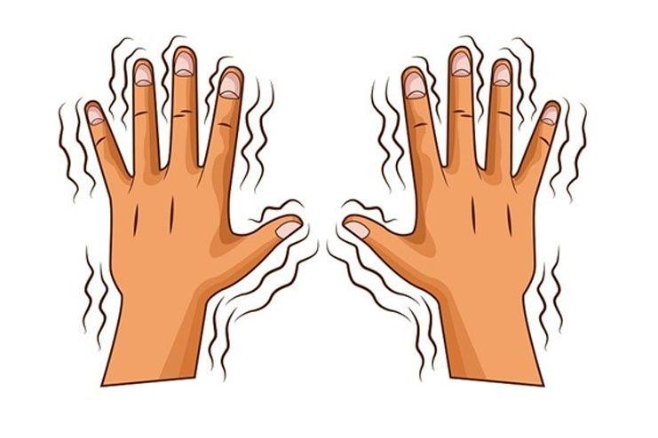 Symptoms of tremors