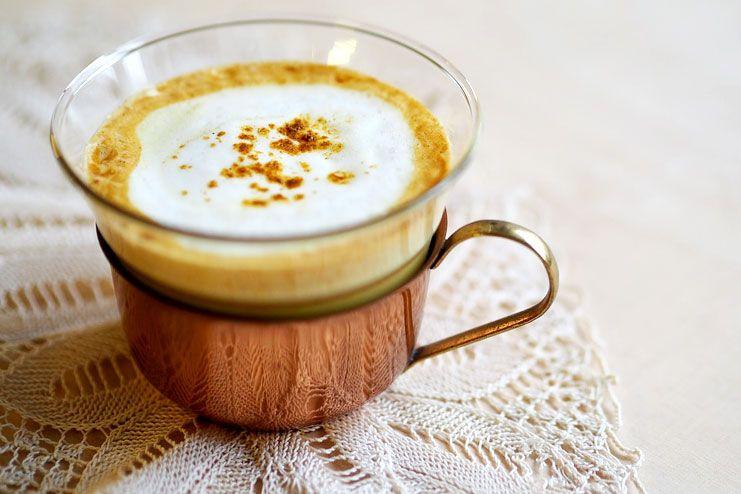Turmeric tea or turmeric milk