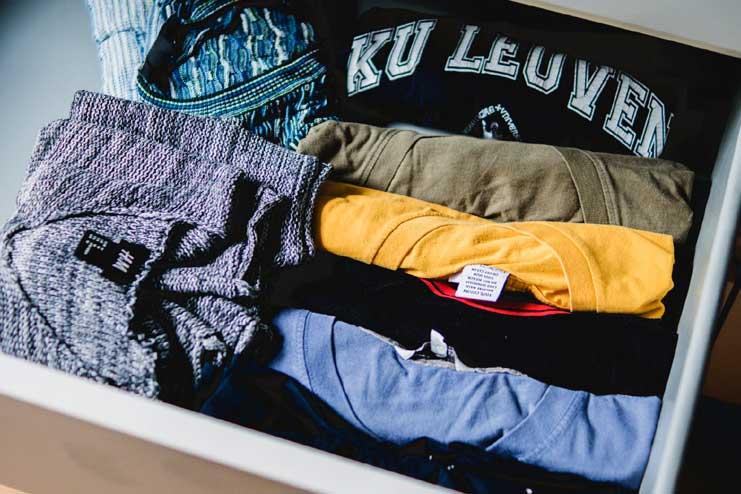 Wear a sweat proof undershirt