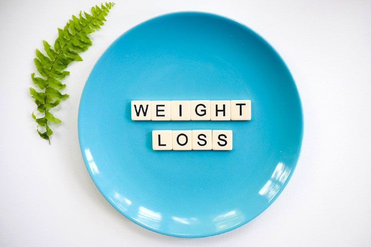 Work on losing weight