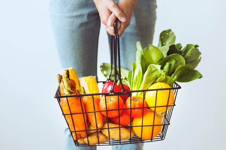 Consume more fruits and veggies