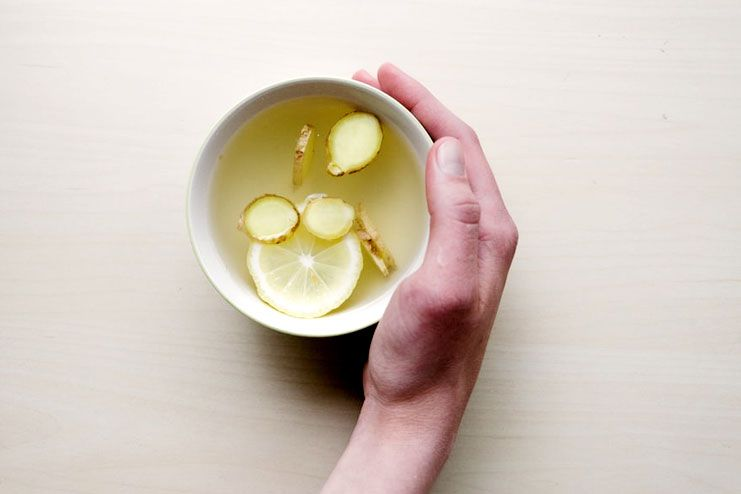 Laryngitis - Ginger tea