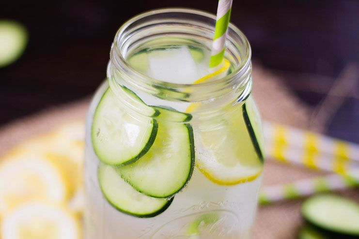 Weight Loss - Lemon Water and Cucumber
