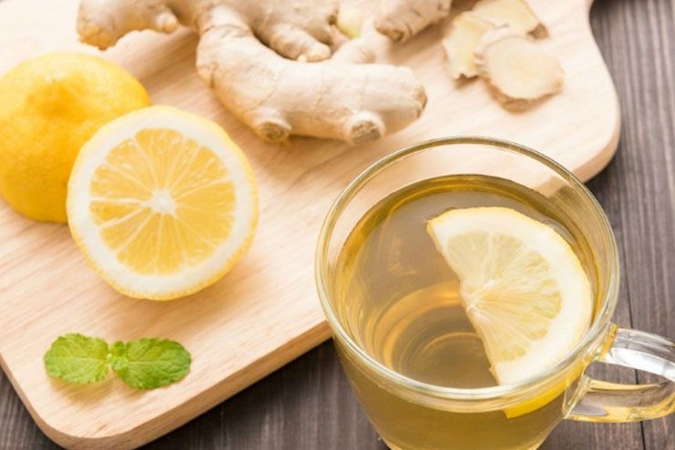 Weight Loss - Lemon Water and Ginger