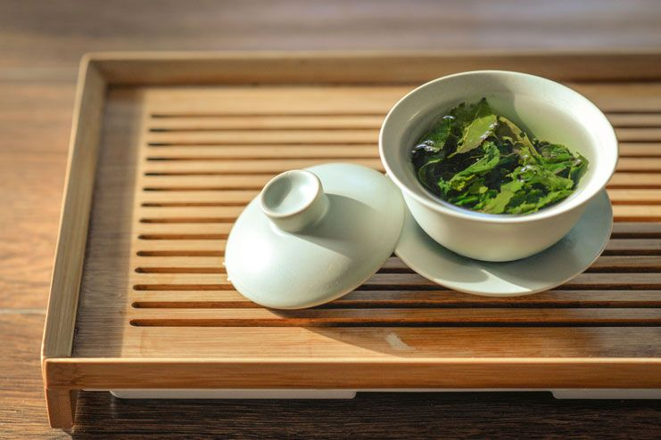 Reducing Body Odor - Green tea