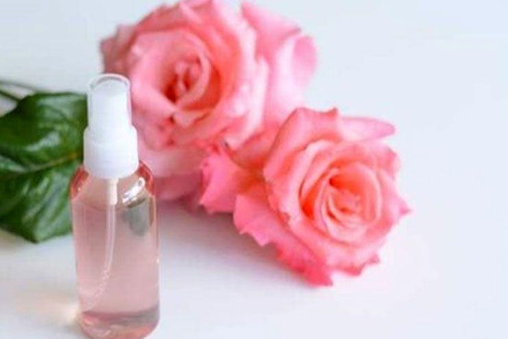 Reducing Body Odor - Rose water