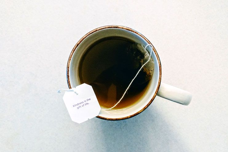 Steeped teabags