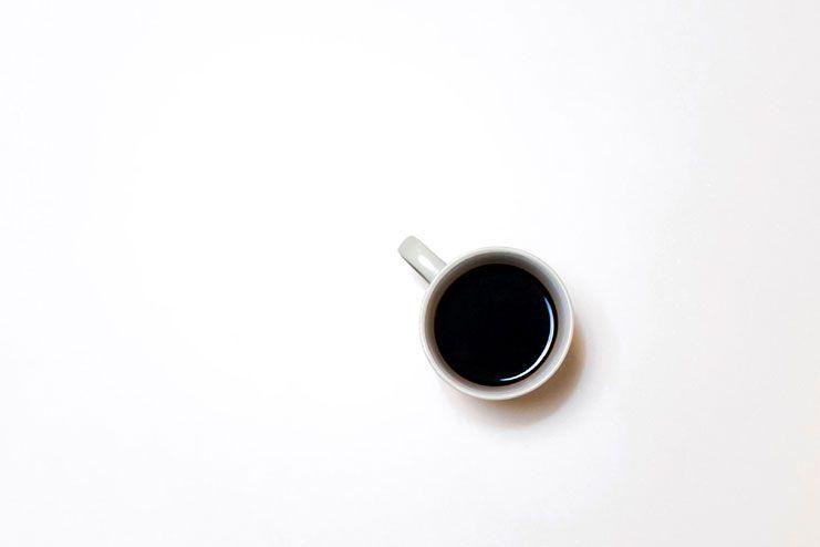 Reduce the caffeine intake