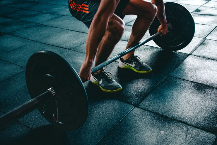 Strain during workout