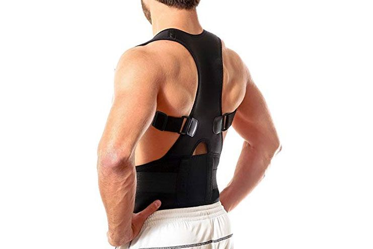 Best Full Adjustable Posture Support Brace By Flexguard Support