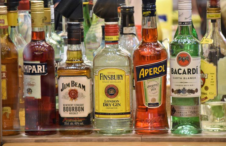 Cut down on the alcohol intake