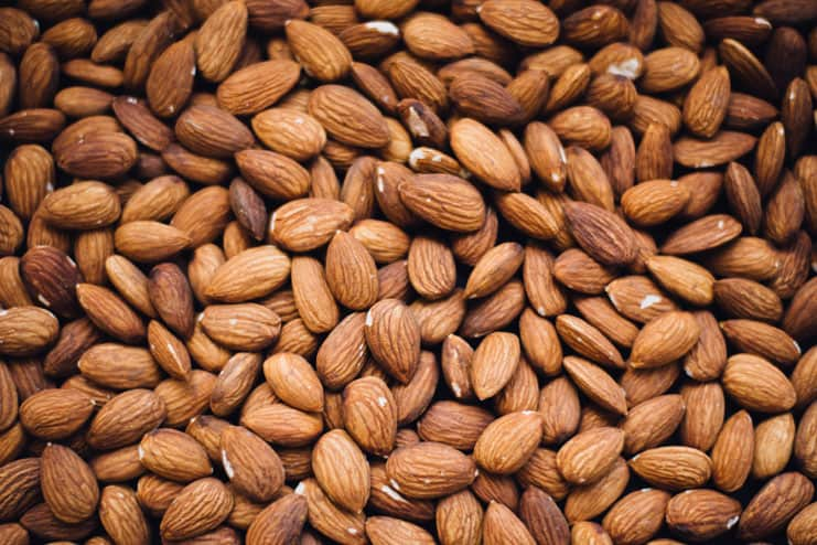Nutritional value of water soaked almonds