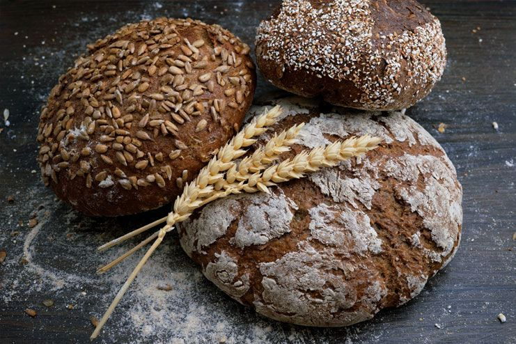 White bread for whole wheat bread