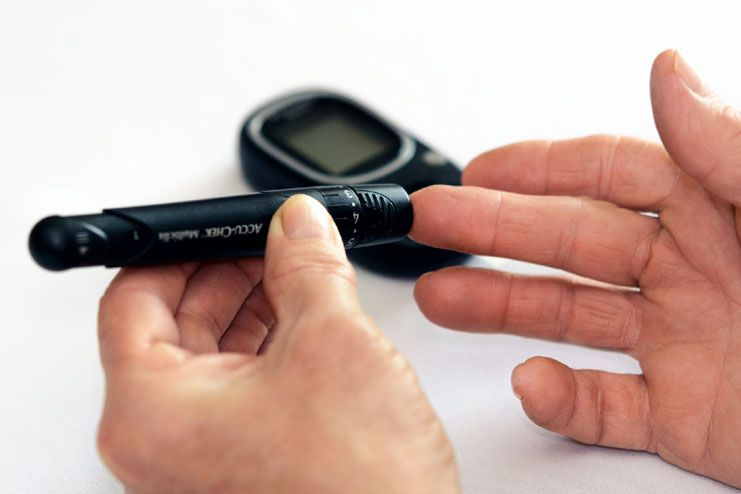 Heightened blood sugar levels