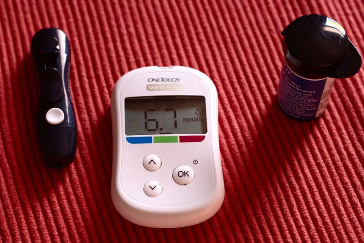 Manage your blood sugar levels