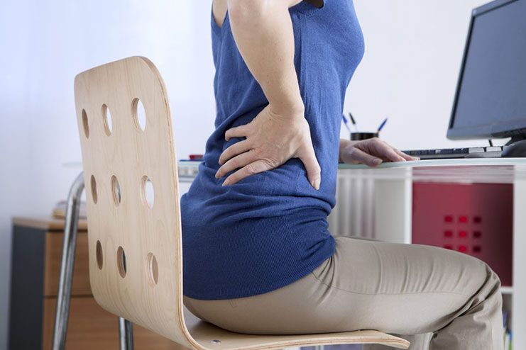 What are the symptoms of Tailbone injury
