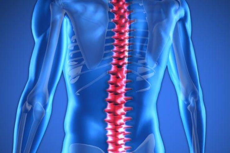 Affects the spine health