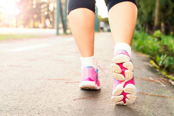 Avoid brisk walking