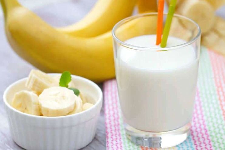 How does the banana and milk diet aid your well being