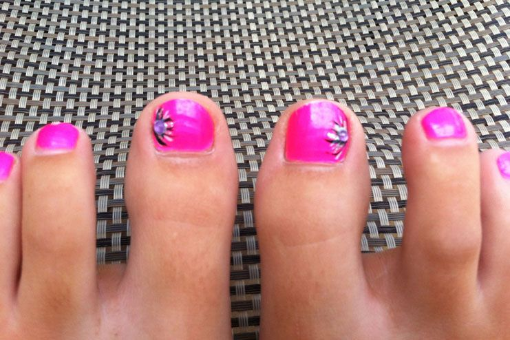 When you have wide-set toes