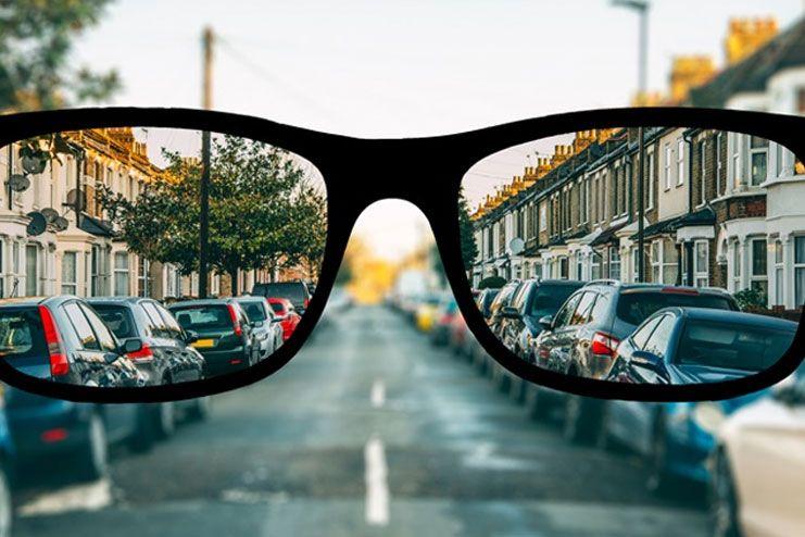 Worsened condition of myopia