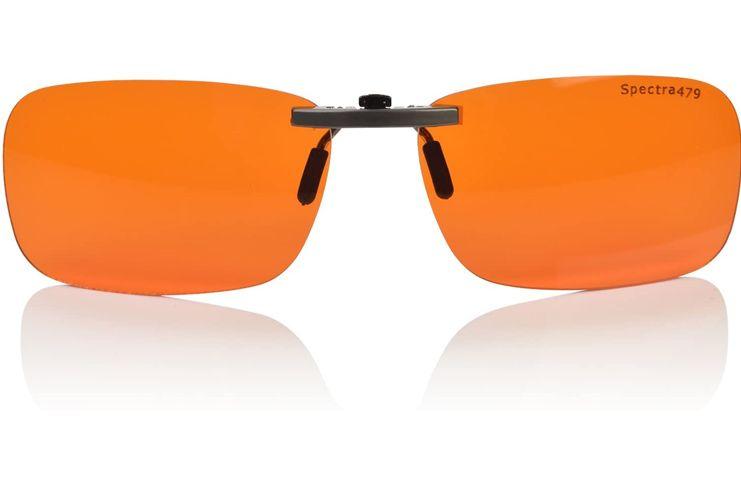 Spectra479 Clip-On Blue Blocking Amber Lenses