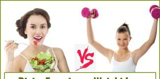 Diet Vs Exercise- Which Works Best