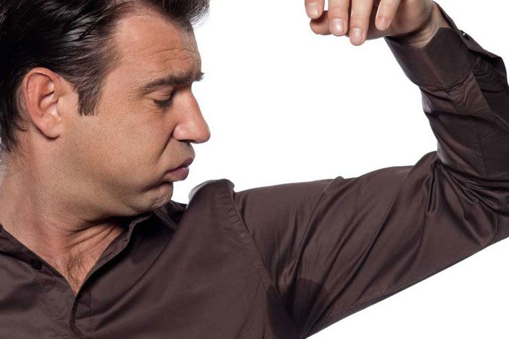 Bad stench or bad body odor