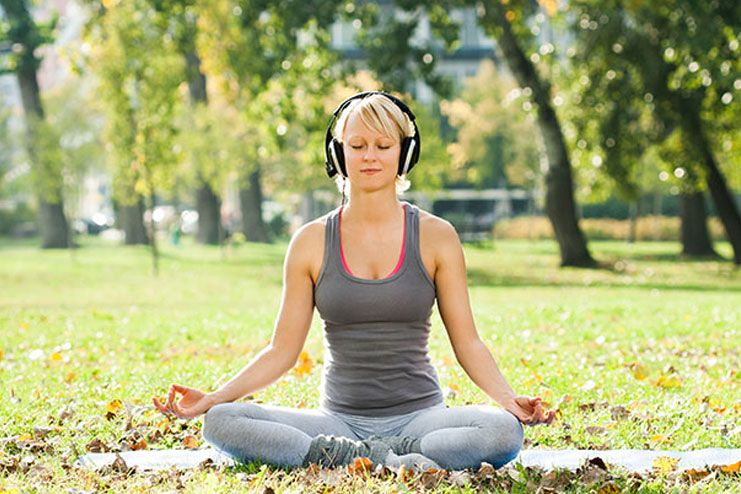 Benefits of listening to music during meditation