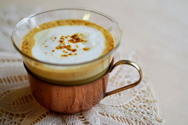 Drink turmeric milk