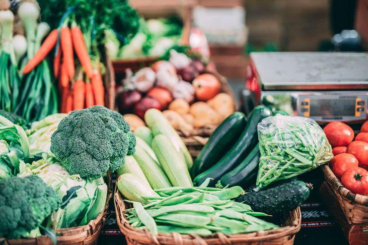 Enjoy the seasonal fruits and vegetables