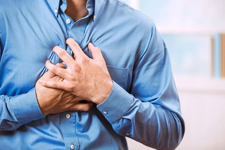 Signs of a heart attack a month before