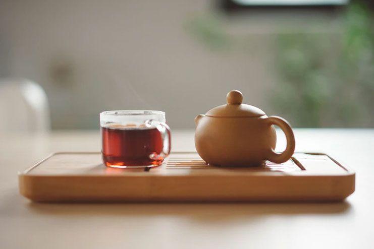 Sip on some herbal tea