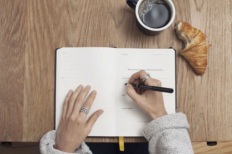 Try journaling