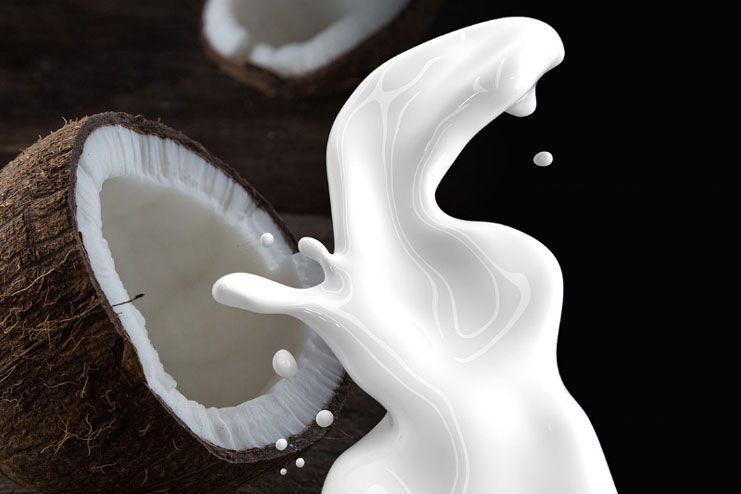 What happens if you drink too much coconut milk