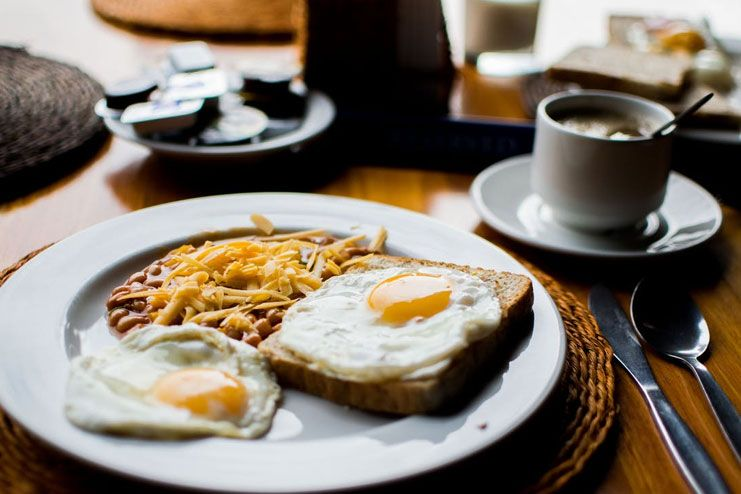 You are skipping out on breakfast