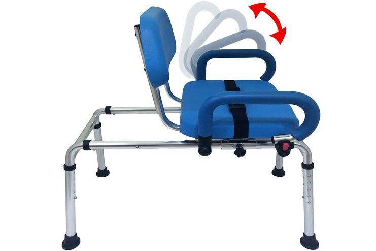 Carousel Sliding Transfer Bath Chair