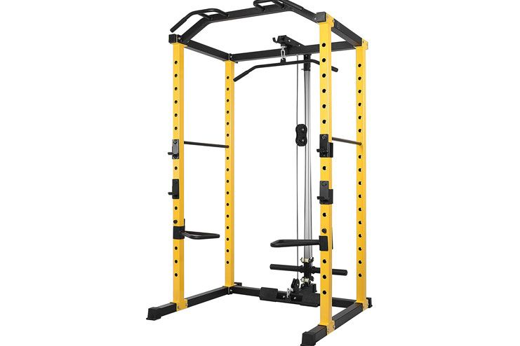HulkFit Power Cage with Lat Pulldown