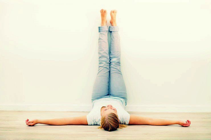 Inverted Wall Sit