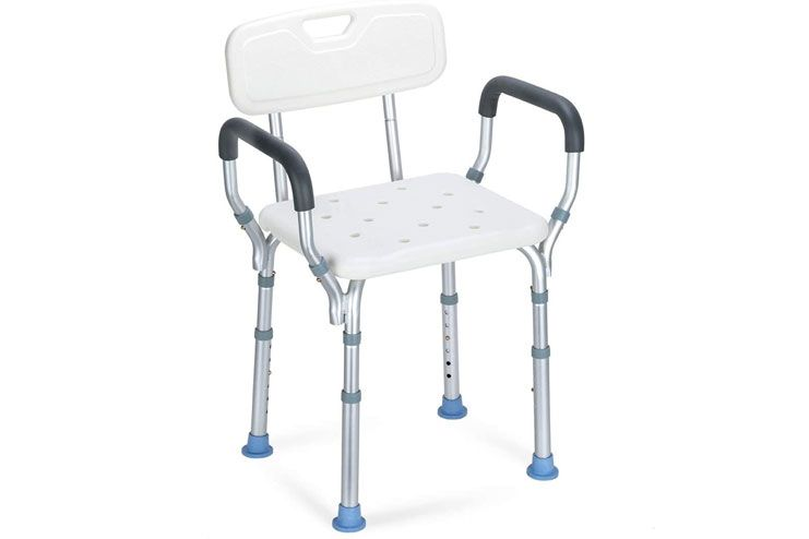 OasisSpace Heavy Duty Shower Chair for Disabled Adults