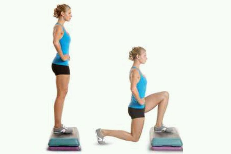 Reversed Lunges As A Squat Alternative For Bad Knees