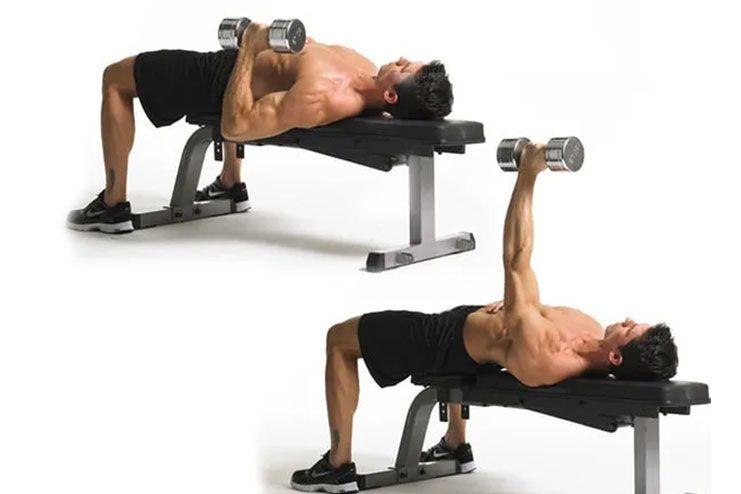 Single Arm Dumbbell Press