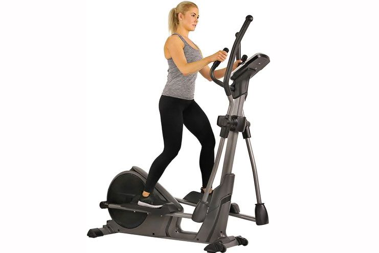 Sunny Health Fitness Pre-Programmed Elliptical Trainer