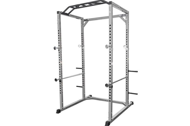 Valor Fitness Heavy Duty Power Rack with Lat Pulldown