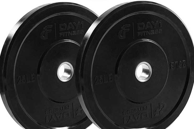 Olympic Bumper Weighted Plates for Barbell