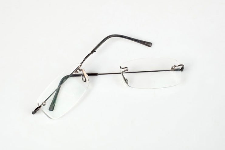 Broken glasses vision is challenge until I get the new pair