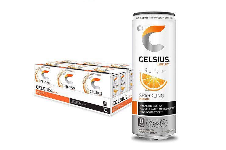 CELSIUS Sparkling Orange Fitness Drink
