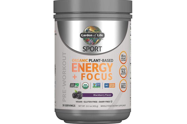 Garden of Life Sport Organic Pre Workout