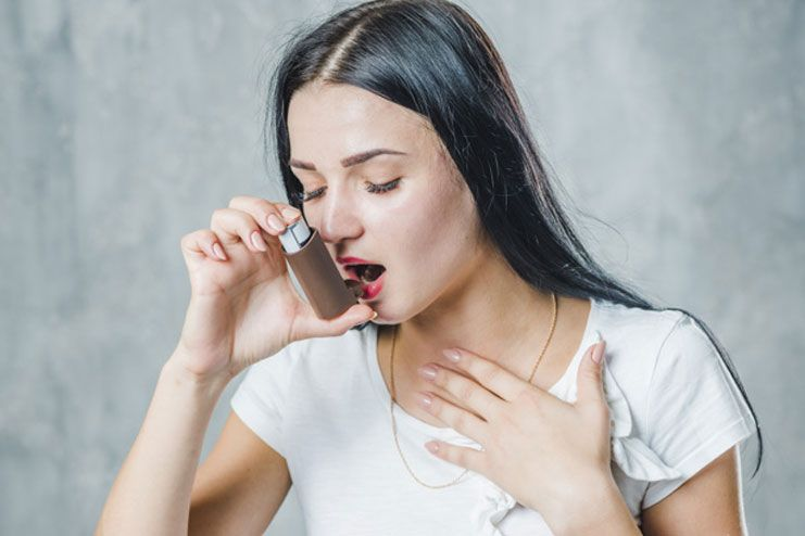 Minimizes asthma