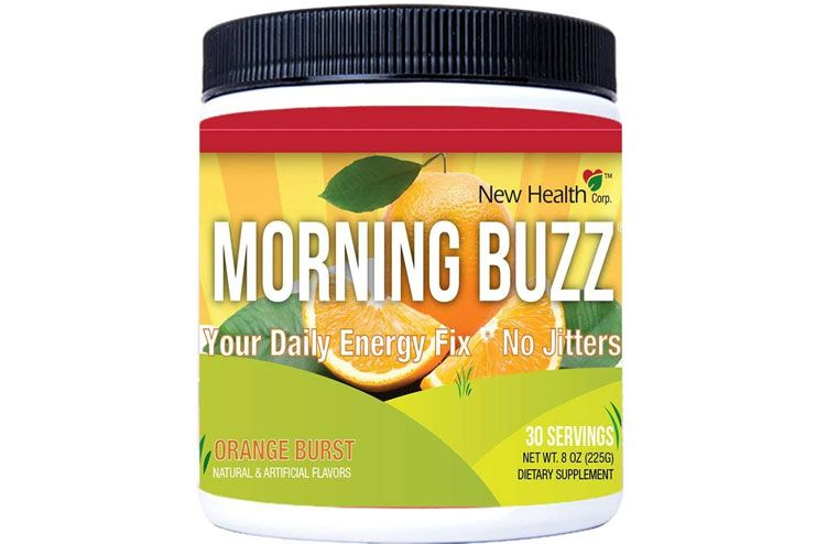 Morning Buzz Sports Energy Drink by New Health